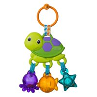 Infantino Sea Charms Turtle Rattle