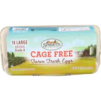 Sprouts Large Cage Free Grade A Brown Eggs