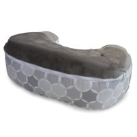 Boppy Best Latch Breastfeeding Pillow Gray Circles