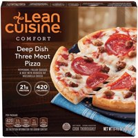 LEAN CUISINE COMFORT Deep Dish Three Meat Pizza 6.38 oz. Box | Delicious Frozen Meals
