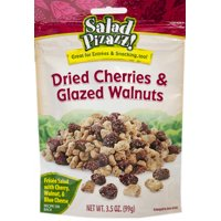 Salad Pizazz! Dried Cherries & Glazed Walnuts Salad Toppings, 3.5 oz