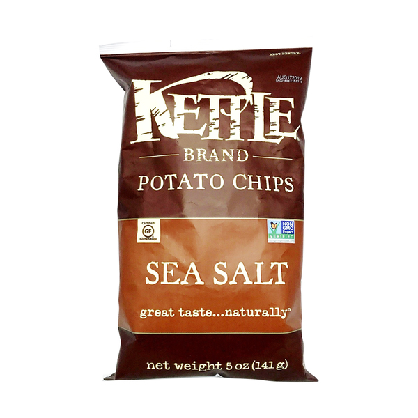 Kettle foods Kettle Brand Lightly Salted Potato Chips, 5 oz