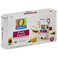 O Organics Juice Beverage, Organic, Fruit Punch