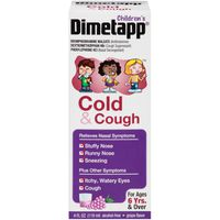 Children's Dimetapp Cold & Cough, Grape Flavor