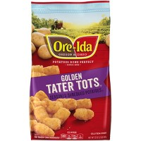 Ore-Ida Tater Tots Seasoned Frozen Shredded Potatoes - 32oz