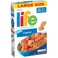 Quaker Life Multigrain Cereal, Original, 18 oz Box