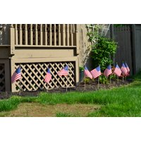 """American Flags, 12"""" x 18"""" - 2 Pack"""