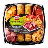 Hormel Gatherings Dry Sausage and Cheese Party Tray; 28 oz.; Meat Paired with Sargento Cheese