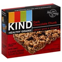 Kind Granola Bars, Gluten Free, Dark Chocolate Chunk