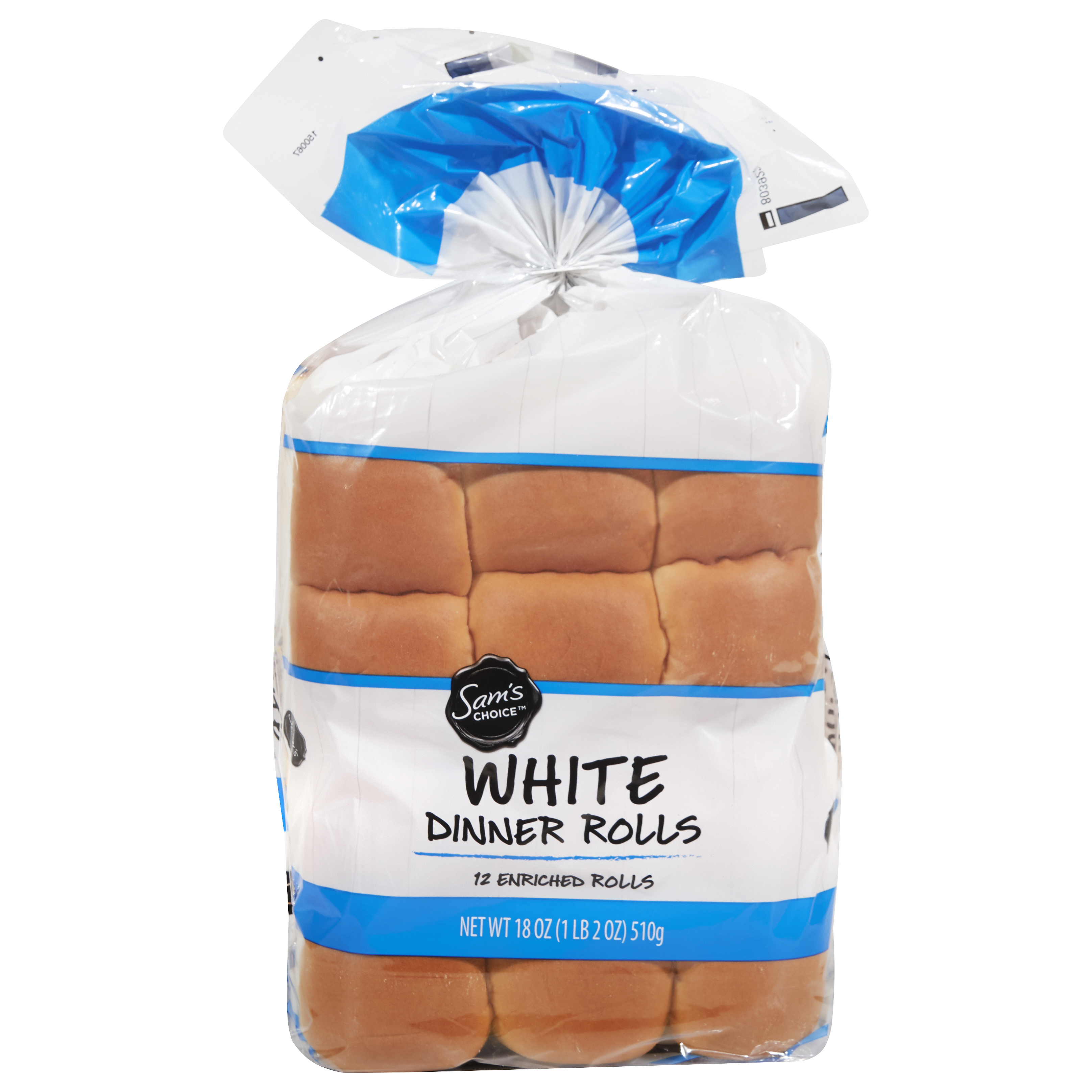 Sam S Choice White Dinner Rolls 18 Oz 12 Count From Walmart In