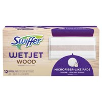 Swiffer WetJet Wood Mopping Pad Refill, 12 Count