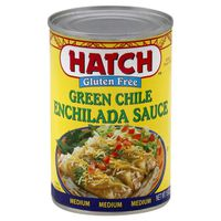 Hatch Sauce, Enchilada, Green Chile, Gluten Free, Can