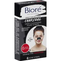 Biore Pore Strips, Deep Cleansing, Charcoal