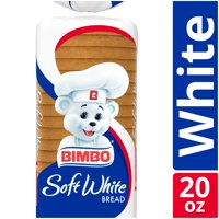 Bimbo Soft White Bread, 20 oz
