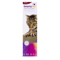 SmartyKat Super Scratcher Single Wide Corrugate Cat Scratcher with Infused Catnip
