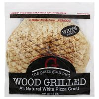 The Pizza Gourmet Pizza Crust, White, Wood Grilled