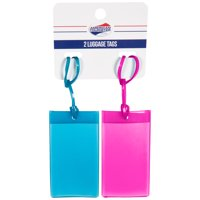 American Tourister Luggage Tag - 2 pack Jelly Luggage Tag