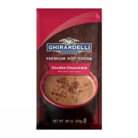 Ghirardelli Chocolate Double Chocolate Premium Hot Cocoa Mix - .85oz