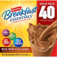 Carnation Breakfast Essentials Complete Nutritional Drink, 40 x 1.26 oz