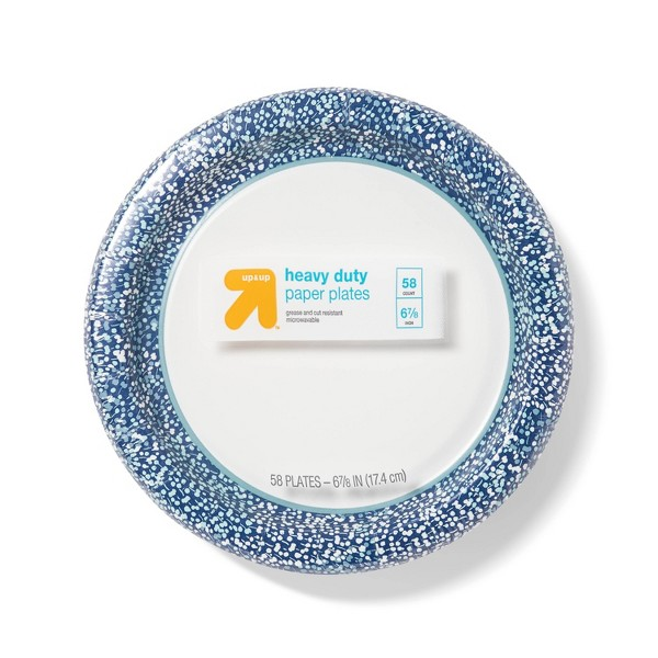 """Sprouts Paper Plate 7"""" - 58ct - Up&Up™"""