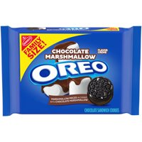 OREO Chocolate Marshmallow Sandwich Cookies, 1 Family Size Pack (17 oz.)
