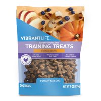 Vibrant Life Superfood Blend Chicken Recipe Training Treats for Dogs, 9 oz