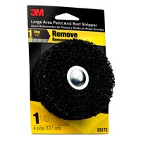 3M Large Area Paint and Rust Stripper, 03172, 4 in, 12 per case
