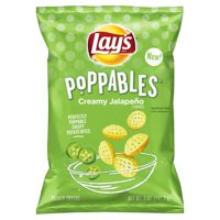 Lay's Poppables Creamy Jalapeño Flavored Potato Snacks, 5 oz