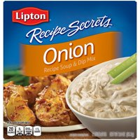 Lipton Recipe Secrets Soup and Dip Mix Onion 2 oz 2 Count