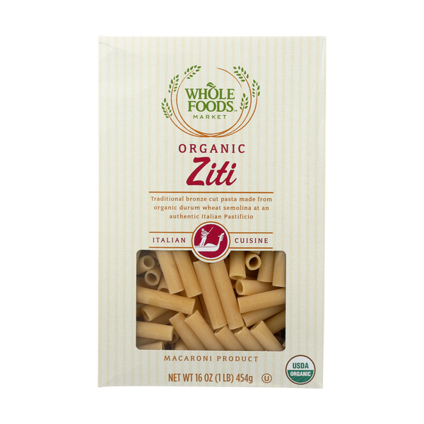 Whole foods market™ Organic Ziti, 16 oz