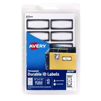 Avery 4x6 Durable Black Label 60ct