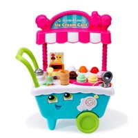 LeapFrog Scoop and Learn Ice Cream Cart, Play Kitchen Toy for Kids