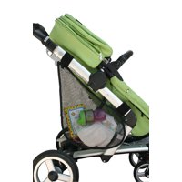 J.L. Childress Side Sling Stroller Cargo Net, Add Easy Storage and Organization to all Strollers