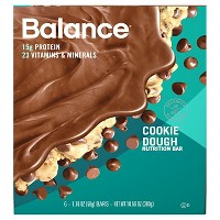 Balance Protein Bar - Cookie Dough - 6ct