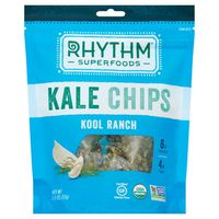 Rhythm Kale Chips, Organic, Kool Ranch