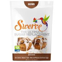 Swerve Sweetener, Zero Calories, Natural, Brown