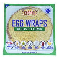 "Crepini 10"" Egg Thin with Cauliflower 9.87 oz Package"