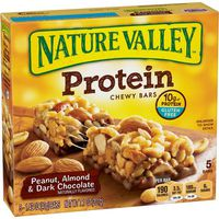 Nature Valley Chewy Bars, Protein, Peanut, Almond & Dark Chocolate