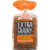 Oroweat Whole Grains Flax & Sesame Seed Bread, 24 oz