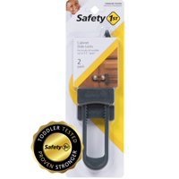 Safety 1st Cabinet Slide Lock for Childproofing, 2 pack