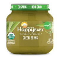 HappyBaby Clearly Crafted Jar Green Beans - 4oz