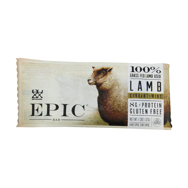 Epic Currant and Mint Lamb Jerky, 1.3 oz