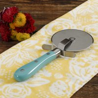 The Pioneer Woman Frontier Collection Teal Pizza Cutter