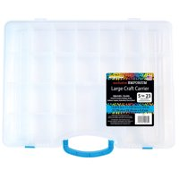 The Beadery Large Craft Carrier Organizer Box