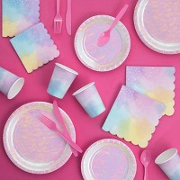 Iridescent Party Supply Kit