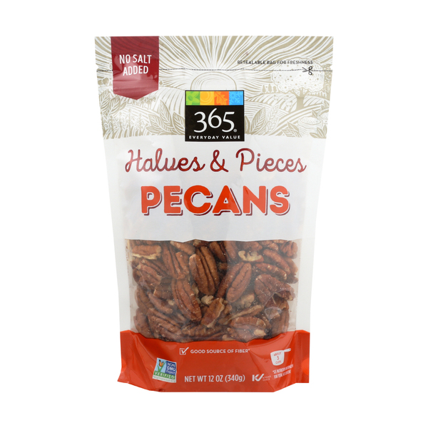 365 everyday value® Pecan Halves, 12 oz