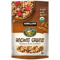 Kirkland Signature Organic Ancient Grains Granola with Almonds, 35.3 oz
