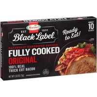 Hormel Fully Cooked Original 100% Real Thick Cut Bacon