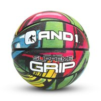 AND1 SUPREME GRIP BASKETBALL COLOR (PINK/GREEN)
