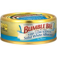 Bumble Bee Prime Fillet Very Low Sodium Solid White Albacore in Water